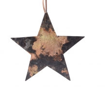 X206KI Iron star hanging D19cm