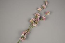 x207fd Sedum artificiel rose H69cm