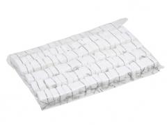 X210X4 Paquet de 60 cadeaux sur pique blanc H20cm