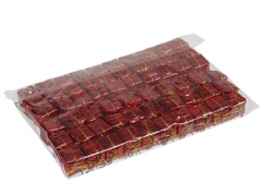 X212X4 Paquet de 60 cadeaux sur pique rouge H20cm