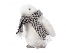 X214KI Pingouin blanc à poser H18cm