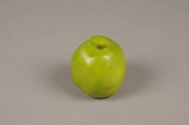 x217ee Pomme verte artificielle D7cm