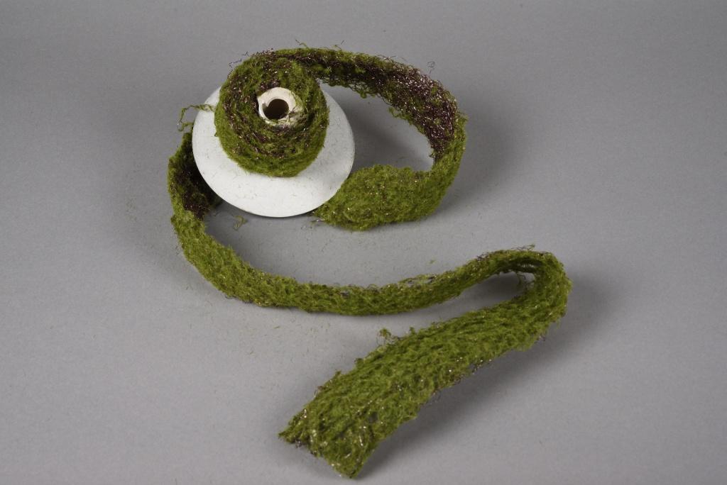 x224fd Green artificial moss roll H200cm