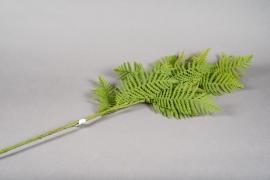 x228ee Branche de fougère artificielle H120cm
