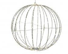 X228KI Flexible ball in metal 168 microLED D30cm