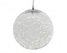 X231KI Plastic ball hanging 300 microLED D40cm