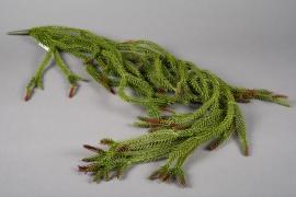 x233ee Chute de feuillage vert 120cm