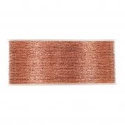 X234UN Ruban tissu maille cuivre brillant 40mm x 10m