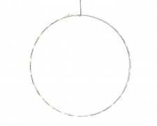 X236KI White metal 60 LED circle D50CM