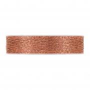 X236UN Ruban tissu maille cuivre brillant 25mm x 10m