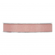 X239UN Ruban de coton rose 15mm x 15m