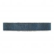 X240UN Ruban de coton bleu 15mm x 15m