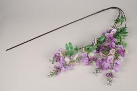 x242am Glycine artificielle violette L160cm