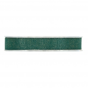 X242UN Ruban de coton vert 15mm x 15m