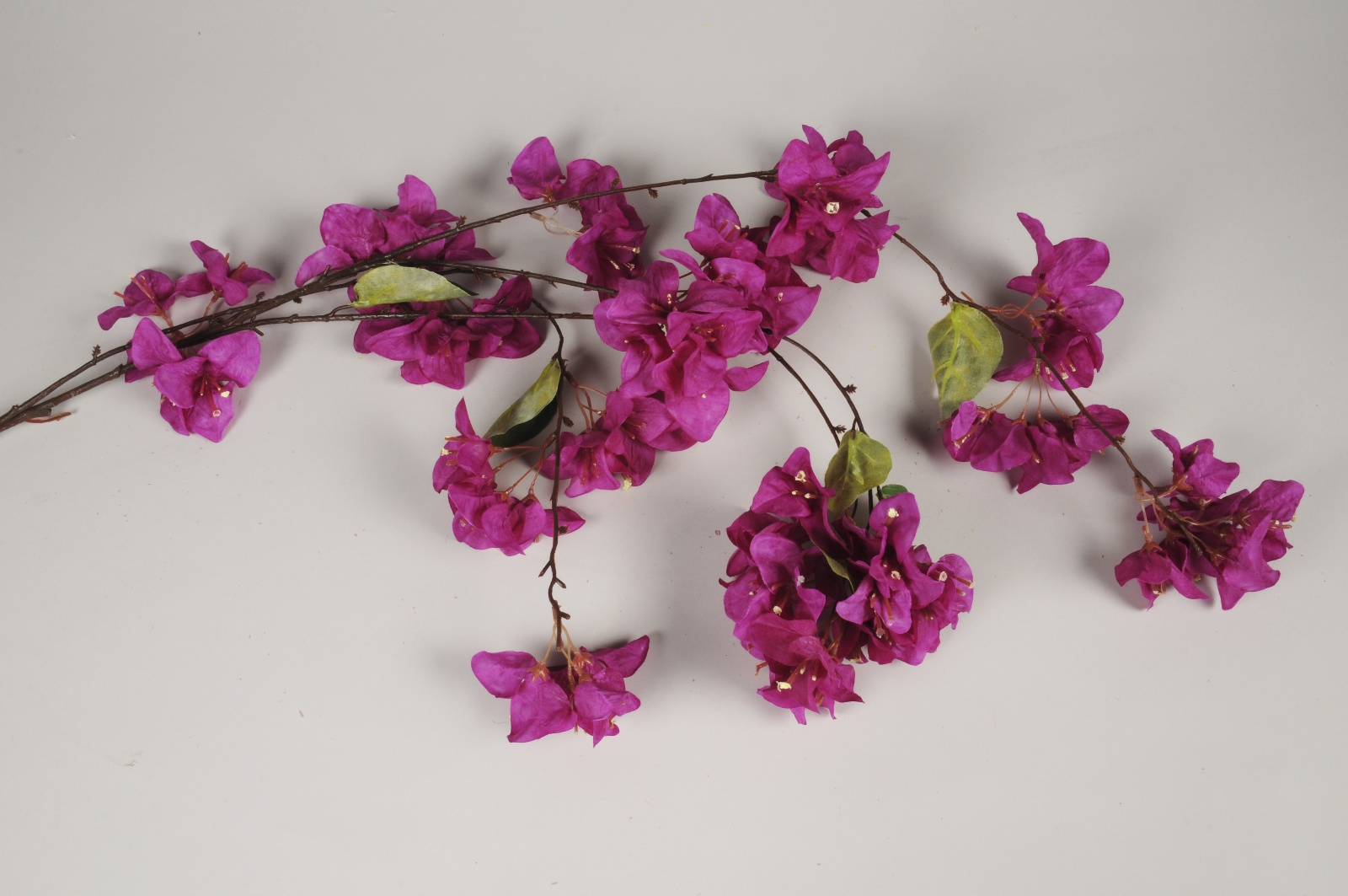 x244am Bougainvillier artificiel violet retombant H146cm