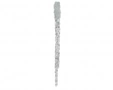 X246KI Glittery plastic icicle hanging height 45cm