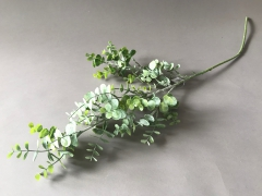 x247fd Branche d'eucalyptus artificiel vert H82cm
