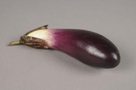 x255fd Artificial eggplant L18cm