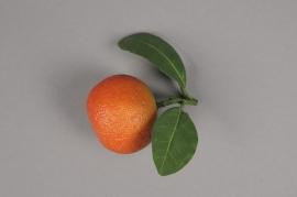 x257fd Mandarine artificielle D5cm