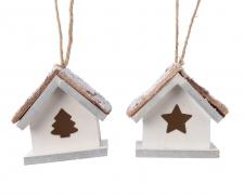 X269KI Wooden house for bird H6cm