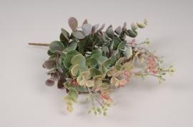 x274fd Piquet de d'eucalyptus artificiel H26cm