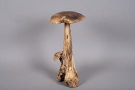 x286fd Champignon en bois H60cm