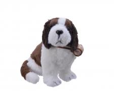 X301KI Synthtic fur dog Saint Bernard H40cm