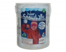 X302KI Box of 20  polyester snow balls D7,5cm