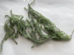 x318fd Artificial green branch of fern H130cm