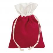 X341UN Paquet de 10 sacs en velours rouge H24cm