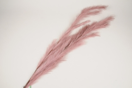 x344ee Branch of pink feathers H130cm