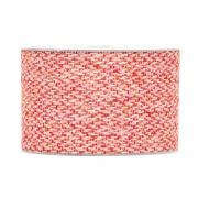 X348UN Ruban en laine rouge et blanc 63mm x 8m