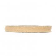 X354UN Ruban en laine ivoire 6mm x 10m