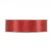 X378UN Ruban brillant rouge 25mm x 30m