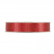 X381UN Ruban brillant rouge 15mm x 30m