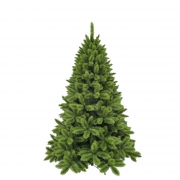 X408DQ Green artificial Christmas tree D142cm H215cm