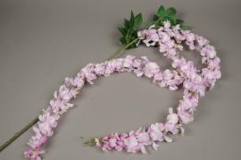 x438mi Artificial pink wisteria branch H190cm