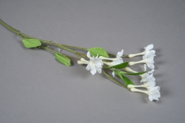 x450mi White artificial jasmine H65cm