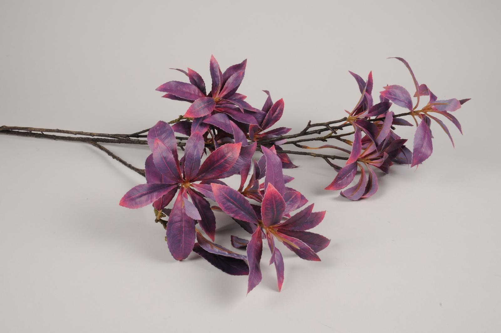 x460ee Rhododendron artificiel violet H107cm