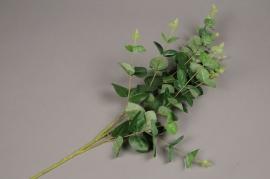 x461mi Branche d'eucalyptus artificiel H80cm