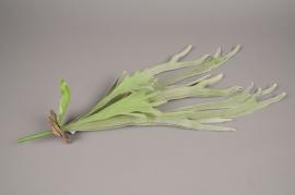 x482di Artificial green fern H63cm