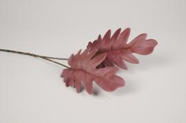 x482ee Philodendron artificiel mauve H51cm