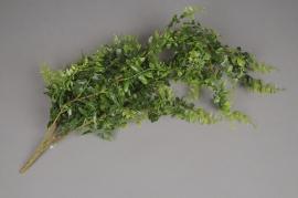 x507jp Chute de fougère artificielle vert H72cm