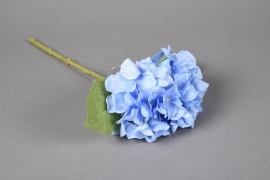 x521mi Artificial hydrangea blue H33cm