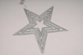 X540KI Étoile argentée D40.5cm