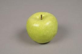 x556jp Pomme artificielle verte D8cm