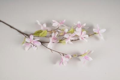 x558di Magnolia artificiel rose H90