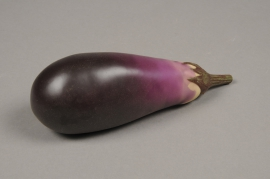 x558jp Artificial purple eggplant L18cm