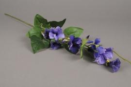 x559di Pétunia artificiel violet H80cm