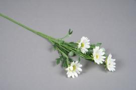 x560di Marguerites artificielles blanches H55cm